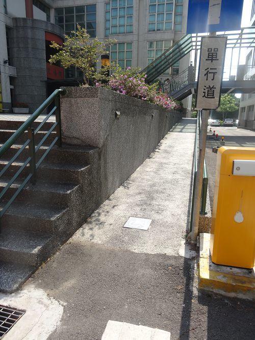 通往光禧樓無障礙坡道
