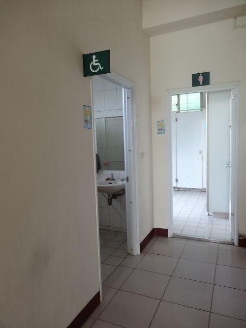 影醫館無障礙廁所