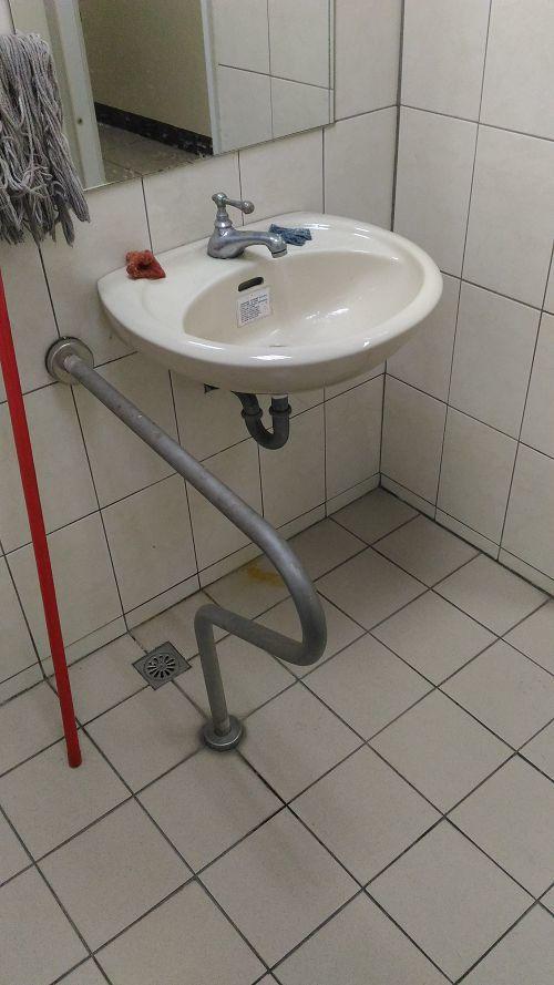 影醫館無障礙洗手檯