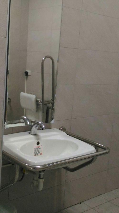 光暉樓無障礙洗手台